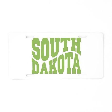 South Dakota Aluminum License Plate