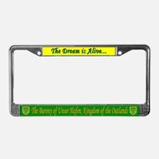 Unser Hafen License Plate Frame