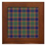 Tartan - Gammell Framed Tile