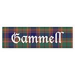Tartan - Gammell Sticker (Bumper 10 pk)