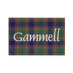 Tartan - Gammell Rectangle Magnet (10 pack)