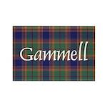 Tartan - Gammell Rectangle Magnet (100 pack)