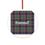 Tartan - Gammell Ornament (Round)