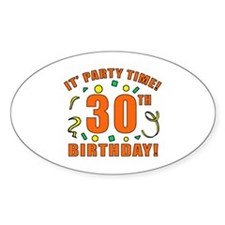 30th Party Time! Decal