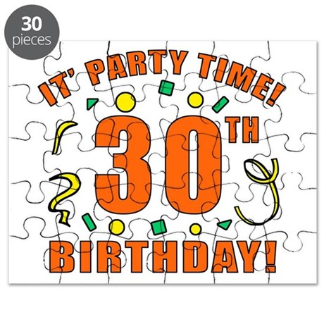 30th Party Time! Puzzle