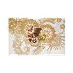 Illinois Flag Rectangle Magnet (100 pack)