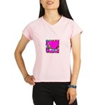 I (Heart) Condoms Performance Dry T-Shirt