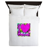 I (Heart) Condoms Queen Duvet