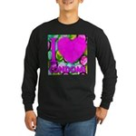 I (Heart) Condoms Long Sleeve Dark T-Shirt