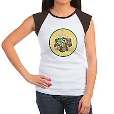 Hosta Garden Art Women's Cap Sleeve T-Shirt