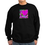 I (Heart) Condoms Sweatshirt (dark)