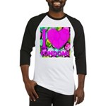 I (Heart) Condoms Baseball Jersey