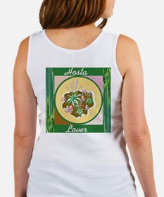 Rose & Hosta Garden Art Women's Tank Top