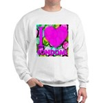 I (Heart) Condoms Sweatshirt