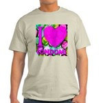 I (Heart) Condoms Light T-Shirt