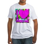 I (Heart) Condoms Fitted T-Shirt