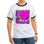 I (Heart) Condoms Ringer T