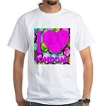 I (Heart) Condoms White T-Shirt