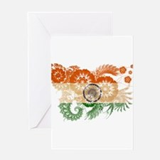 India Flag Greeting Card
