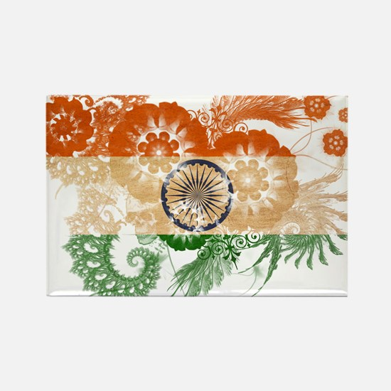 India Flag Rectangle Magnet