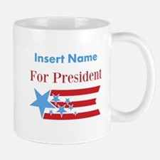 Personalized For President Small Small Mug