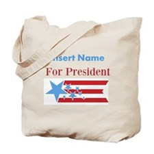 Personalized For President Tote Bag