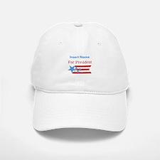 Personalized For President Baseball Baseball Cap