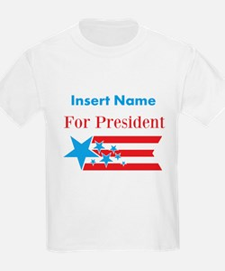 Personalized For President T-Shirt