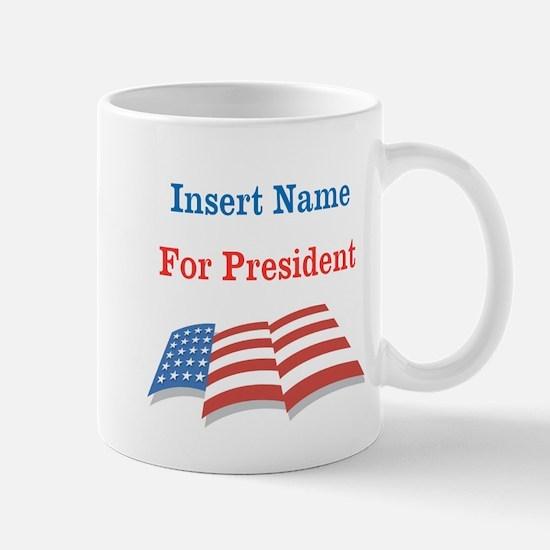 Personalized For President Mug