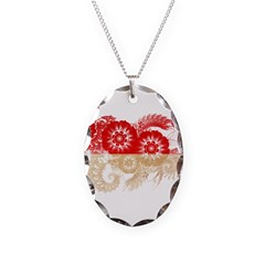 Indonesia Flag Necklace