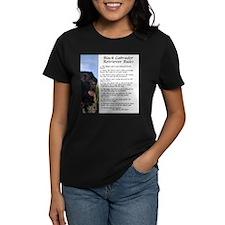 Black Lab Rules T-Shirt