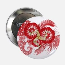"""Isle of Man Flag 2.25"""" Button (100 pack)"""