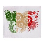 Italy Flag Throw Blanket