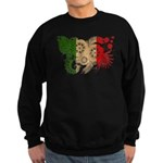 Italy Flag Sweatshirt (dark)