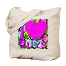 I (Heart) Guys Tote Bag