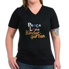Peace, Love Kindergarten Shirt