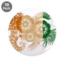 """Ivory Coast Flag 3.5"""" Button (10 pack)"""