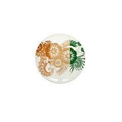 Ivory Coast Flag Mini Button (10 pack)
