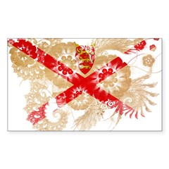 Jersey Flag Decal