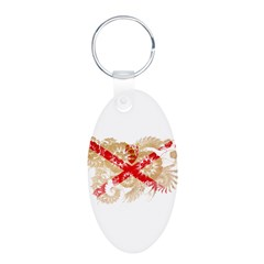 Jersey Flag Keychains