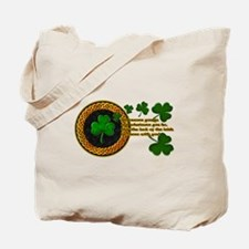 Luck of the Irish Blessings Tote Bag