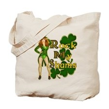 Rock My Shams Irish Pinup Tote Bag