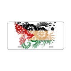 Jordan Flag Aluminum License Plate