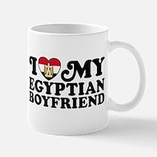 I Love My Egyptian Boyfriend Mug