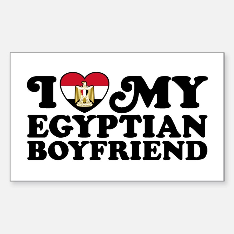 I Love My Egyptian Boyfriend Decal