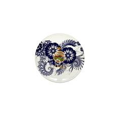 Kansas Flag Mini Button (100 pack)