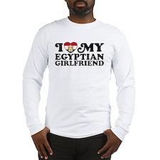 Egyptian Girlfriend Long Sleeve T-Shirt