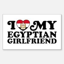 Egyptian Girlfriend Decal