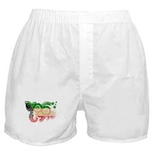 Kuwait Flag Boxer Shorts