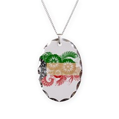 Kuwait Flag Necklace